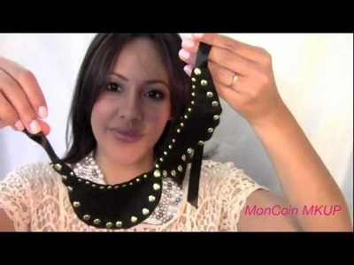 "DIY- Comment Faire un ""Peter Pan Collar"" - *by MCMKUP"