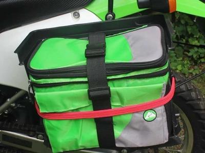 DIY Motorcycle Saddle Bags - Kawasaki KLX 250