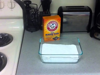 DIY PH Buffer Soda Ash From Baking Soda