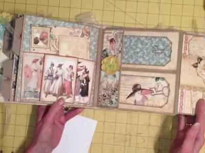 Double Paper Bag Page Mini Album Tutorial, Part 2 of 3