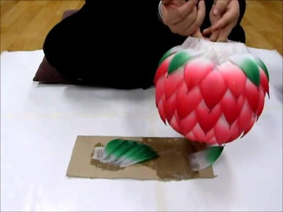 How to make a lotus lantern-2