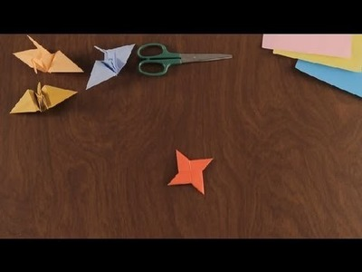 How to Make an Origami Ninja Star : Simple & Fun Origami