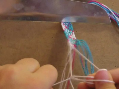 How to make Friendship Bracelets: Plaid