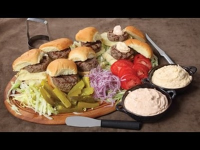 How To Make Hamburger Sliders | RadaCutlery.com