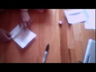 How To Make Paper Soccer Goals