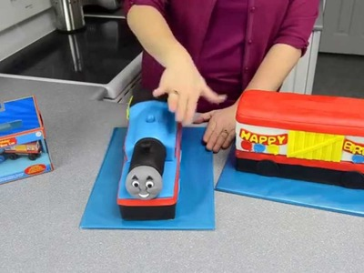 [How To Make] Thomas The Tank Engine Cake Thomas The Train