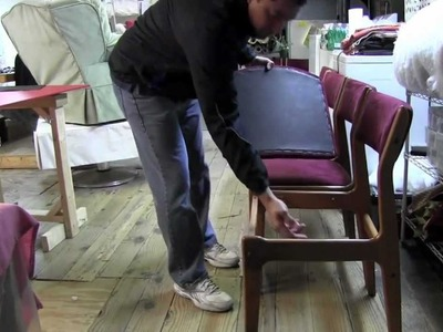 How To Upholster Dining Room Chairs