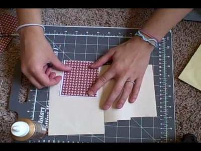 Making an Envelope Pocket Card