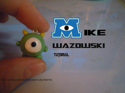 Mike Wazowski Polymer Clay Charm Tutorial