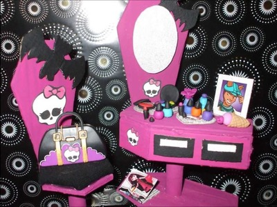 Fofucha Monster High Vampira laura, My Crafts and DIY Projects