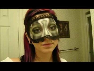 Part2 of NikkieTutorials Masquerade Ball Contest Mask Tutorial