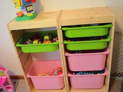 Playroom Tour & Toy Organization Update