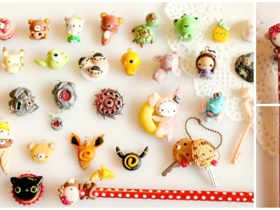 Polymer Clay Charm Update #4 - Pencil, Lilacsprinkles & More!