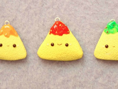 Polymer Clay Tortilla Chip Charm Tutorial