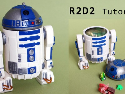 Star Wars R2-D2 Polymer Clay Tutorial