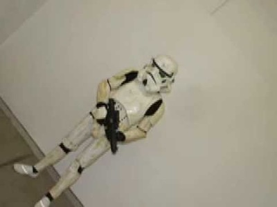 Stormtrooper  paper mache armour armor