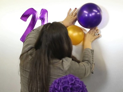 The Decorations for Hosting a 21st Birthday Party : Decor for Birthdays & Other Parties