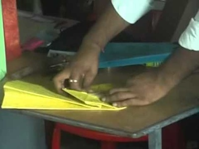 Training on Paper Bag Making by CHANGE INITIATIVES.wmv