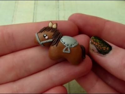 [Tutorial] Horse (Polymer Clay.Fimo)