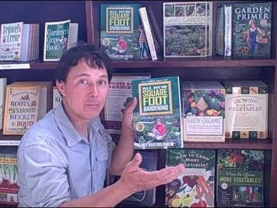 Best Books on Organic Gardening and Growing Food at Home