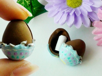 Chocolate Egg Surprise Tutorial (Polymer Clay)