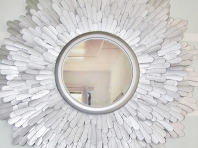 How To Create a Beautiful Starburst Mirror - DIY Home Tutorial - Guidecentral