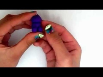 How to make a polymer clay gummy bear charm
