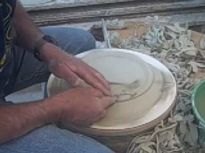 How to make a square clay, pottery, porcelain plate: part 2