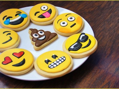 How To Make EMOJI COOKIES! | FoodAffairWithGare