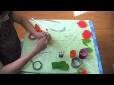 How to make stocking flower (Rose) by www.ployandpoom.com 1.2
