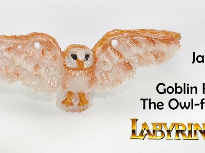 Labyrinth: Jareth The Goblin King the owl-form polymer clay tutorial :)