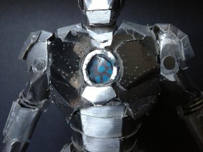 Paper Iron Man Mark II
