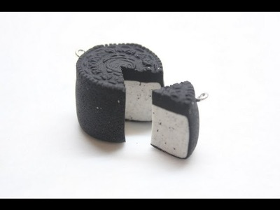 Polymer Clay Oreo Cake Tutorial