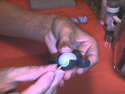 Polymer Clay Pingu Tutorial