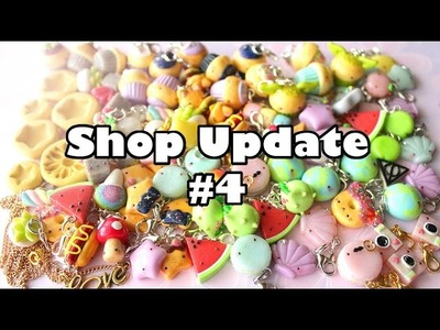 Shop Update #4 │ Polymer Clay Charms