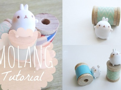 Tutorial #4 - Molang Polymer Clay Charm ♡