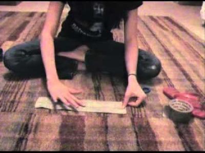 AGD Duck Tape Cheer Uniforms Video Tutorial Part 1