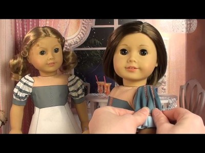 American Girl Doll Dress Tutorial from Printable Doll Clothes