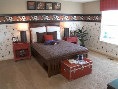Bedroom Design Ideas for Boys Rooms - by HomeChannelTV.com