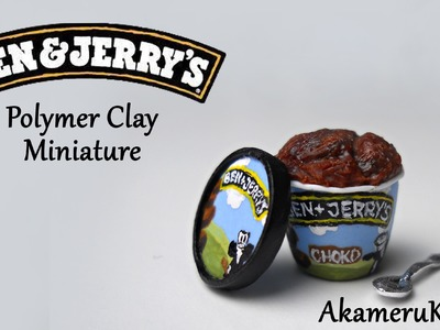 Ben & Jerry's inspired Miniature - Polymer Clay Tutorial