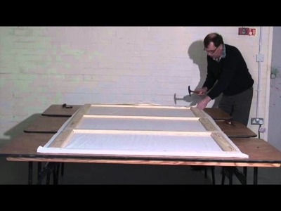 Building a Theatre Scenery Flat (part 2 of 4)