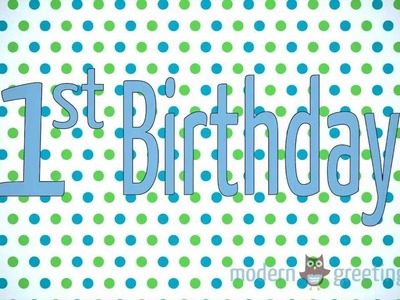 Cute Ideas for Baby's First Birthday