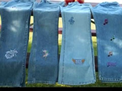Embroidery jeans A MUST SEE!!