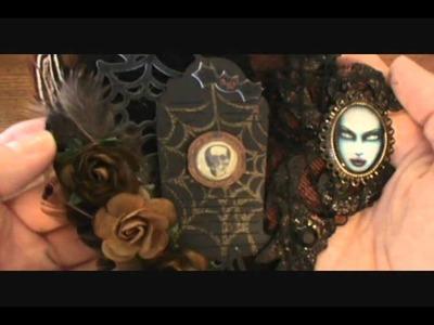 Gothic Halloween Tag for Niki