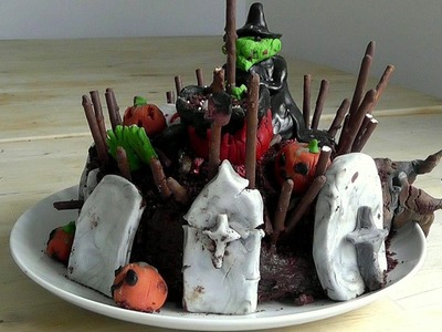 Halloween Cake How to make cakes & Decorations recipe