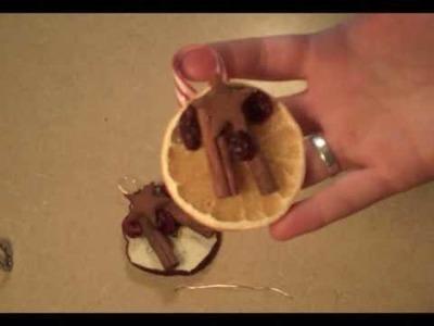 Handmade Christmas Ornaments Sample & Free Handout!