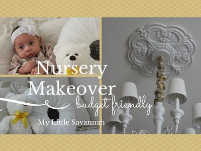 HOME DECOR: Nursery Makeover & Duvet Cover Give-a-way