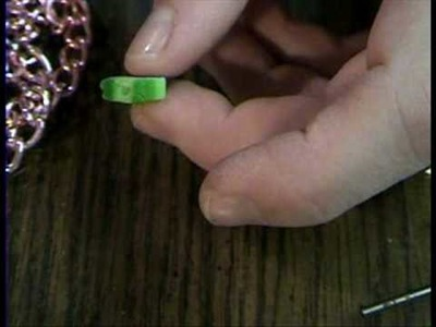 How to Attach a Hook to a Polymer Clay Charm by Garden of Imagination