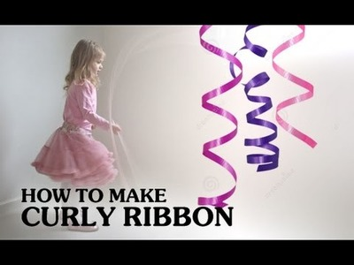 How To Curl A Ribbon || Decorating Ideas