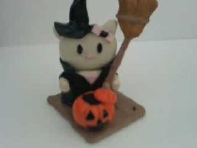 How to make a Halloween Hello Kitty